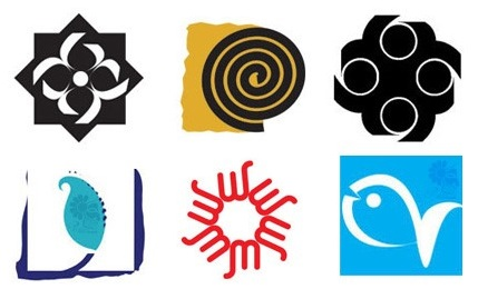 نمونه نشانه و لوگو