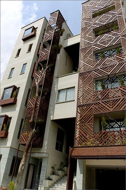 مجتمع مسکونی باغ ونک پروژه منتخب فستیوال جهانی معماری بارسلون