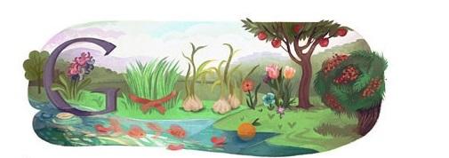 لوگوی گوگل در نوروز