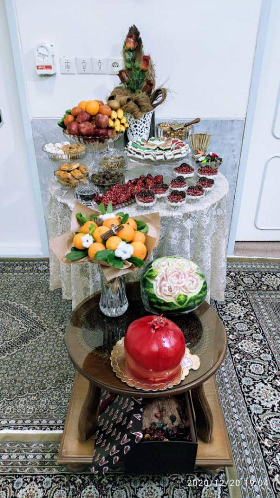 آثار هنرجویان هنرستان مشکی یزد