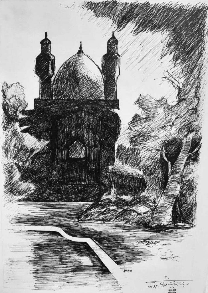 آثار برگزیده هنرستان حکیم فارابی بم