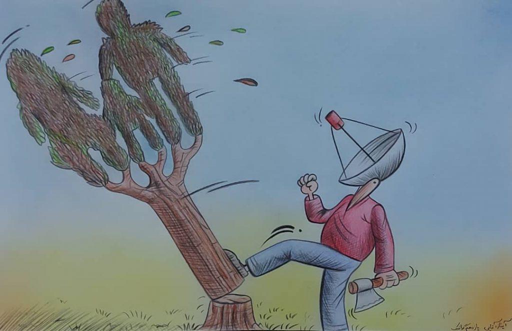 آثار برگزیده هنرجویان هنرستان فضیلت