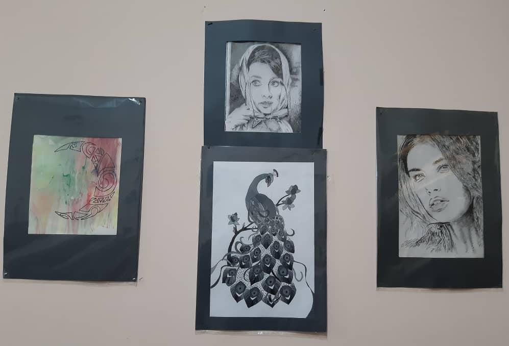 آثار برگزیده هنرجویان هنرستان شمسی و مرتضی سرمد
